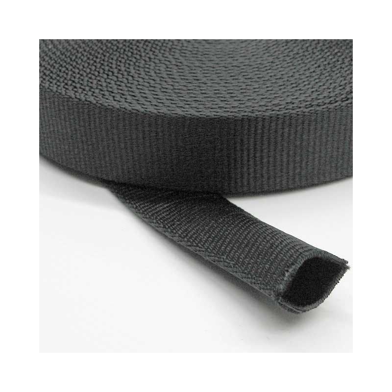 PA-Schlauchband 25mm schwarz
