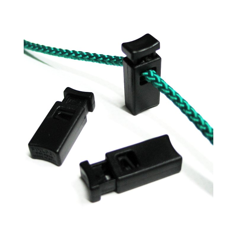 Kordelstopper 4mm schwarz