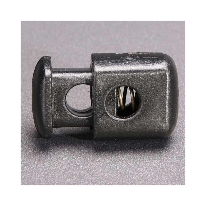 FLAT f/ür 4-6mm Kordeln und Seile 1 St/ück Flacher Kordelstopper Kordelklemme