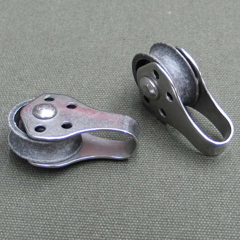 Block Umlenkrolle Seilrolle Edelstahl 25mm