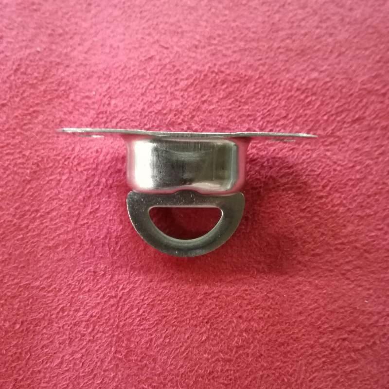 Ovalösen 1 x Drehverschluss Nirosta V2A für 22,5 x 13,5 mm Öse