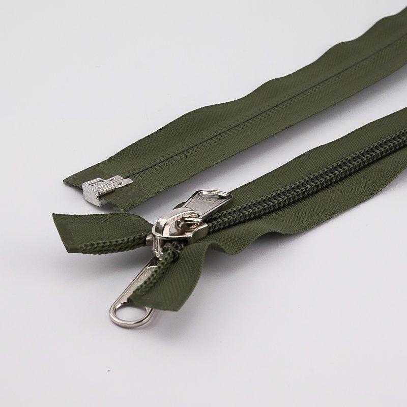 10 OPTI Schieber Zipper für Reißverschlüsse Nummer 5 Kunststoff Spirale