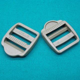 25ST Metall Round Leiterschnalle Schieberegler Schnalle for 15mm Gurtband Gurt