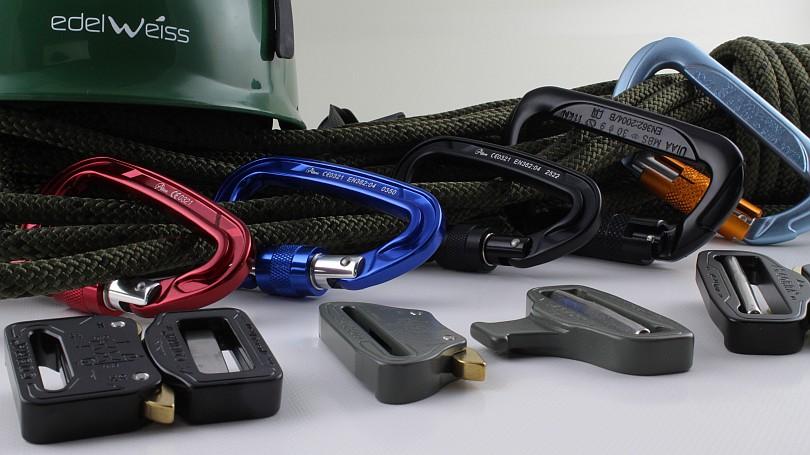 Sicherheitskarabiner, Metallsteckschnallen